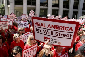 Heal America, Tax Wall Street