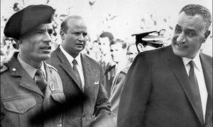 Gamal Abdel Nasser, president of Egypt in 1967